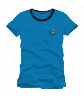 Camiseta uniforme Star Trek Científico