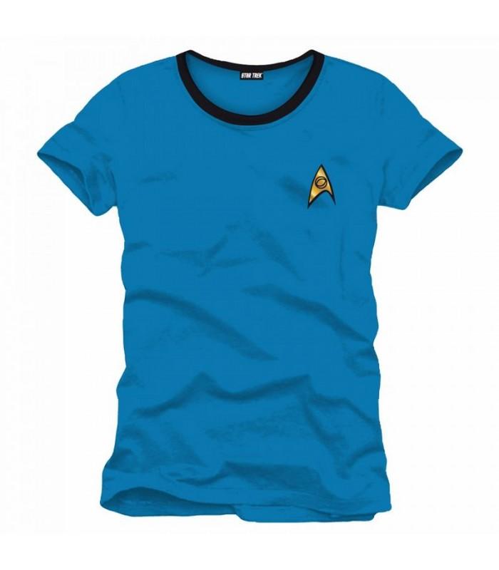 Camiseta uniforme Star Trek Científico