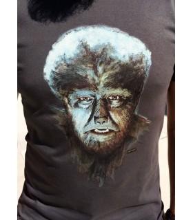 Camiseta de cine clásico - El Hombre Lobo - Lon Chaney