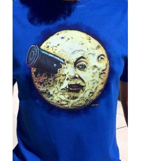 Camiseta de cine clásico - Viaje a la luna