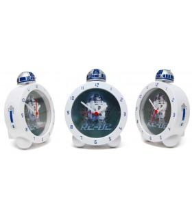 Despertador R2-D2 que brilla en la oscuridad - Sonido Star Wars