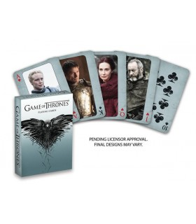 Baraja de cartas de Póker 2ª edición - Juego de Tronos