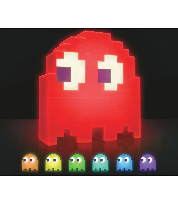 Lámpara LED fantasma - PAC-MAN