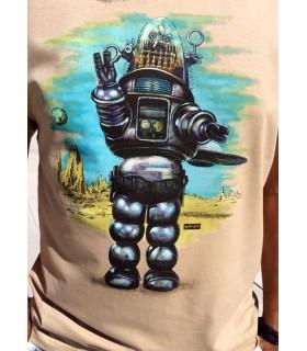 Camiseta de cine clásico - Planeta prohibido
