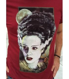 Camiseta de cine clásico - Novia de Frankenstein