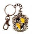 Llavero Metálico Emblema Casa Hufflepuff - Harry Potter
