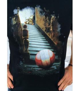 Camiseta de cine clásico - Al final de la escalera