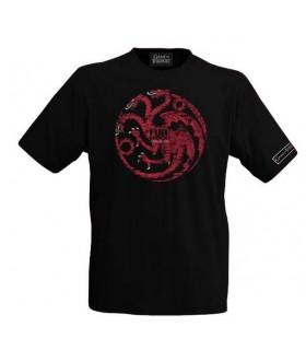 Camiseta Targaryen blanca - Juego de Tronos