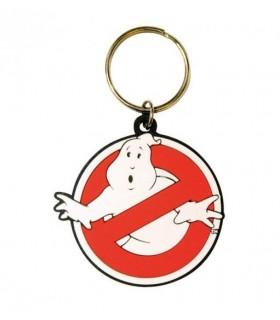 Llavero de goma logo No Ghost - Los Cazafantasmas