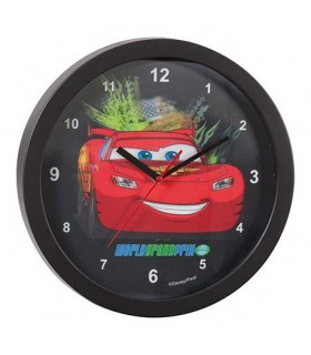 Reloj de pared 3D Rayo McQueen - Cars