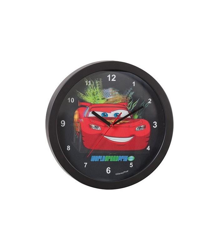 Reloj de pared 3D Rayo McQueen - Cars