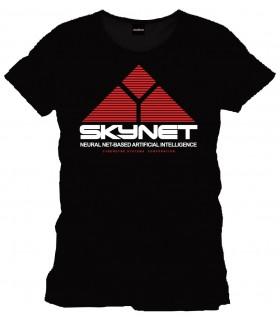Camiseta negra Skynet - Terminator