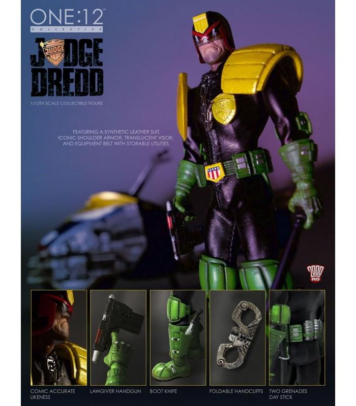 Figura Juez Dredd The Cursed Earth
