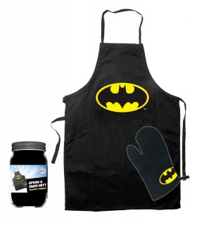 Delantal con manopla Batman