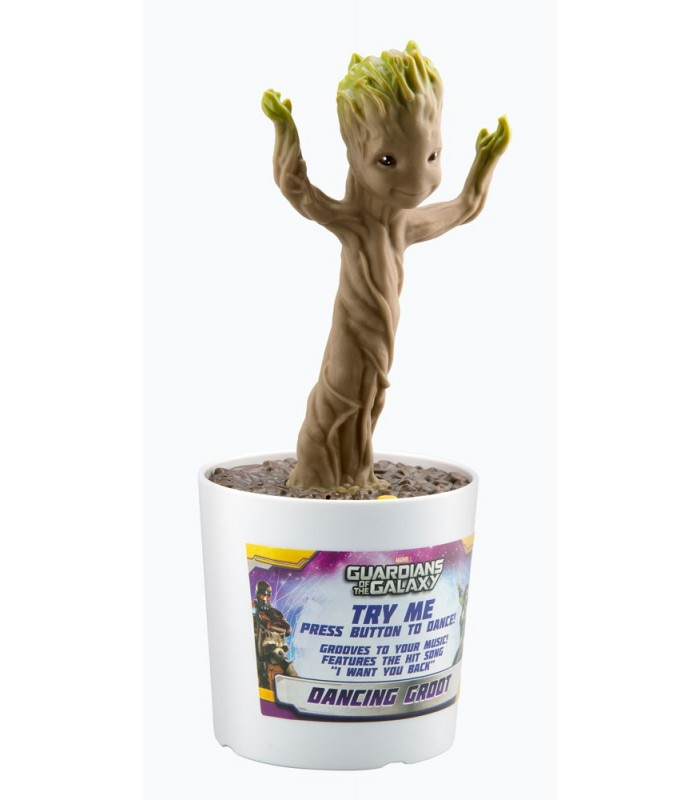 Figura interactiva con sonido Dancing Groot - Guardians of the Galaxy