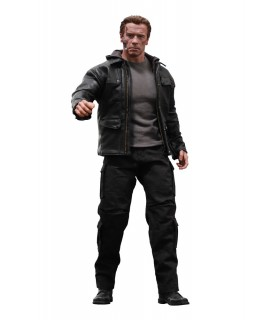 Figura guardián T-800 2 escala 1:6 Movie Masterpiece - Terminator Genisys