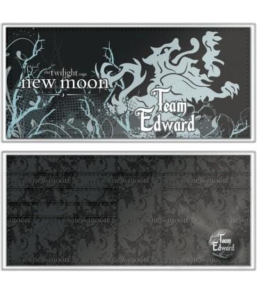 Cartera Billetera Team Edward-  Luna Nueva New Moon Twilight