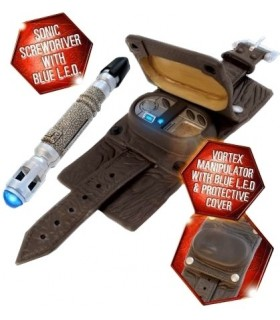 Conjunto Manipulador de Vórtices y Destornillador Sónico - Doctor Who