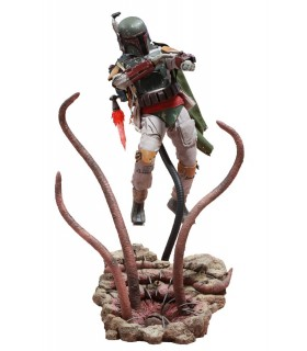 Boba Fett escala 1/6 versión Deluxe Movie Masterpiece - Star Wars
