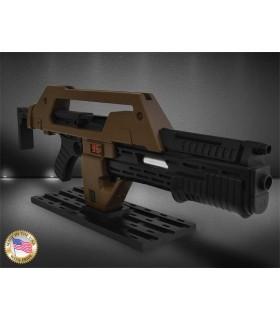 Rifle de pulsos marrón - Aliens