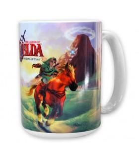 Taza Link y Epona - Zelda Ocarina of Time