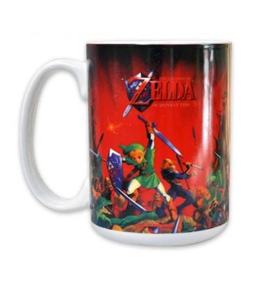 Taza escena de lucha - Zelda Ocarina of Time