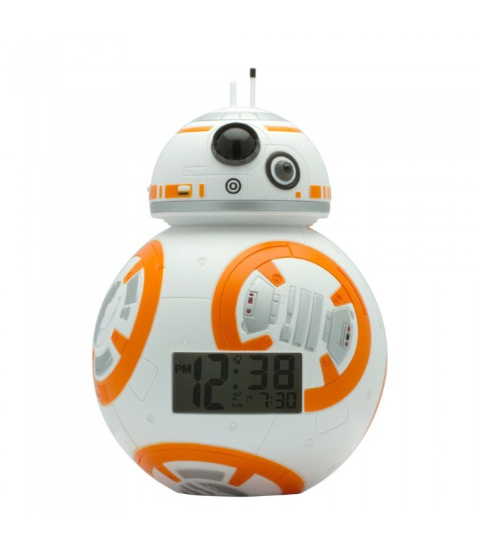 Reloj despertador con luz BB-8 - Star Wars Ep VII.