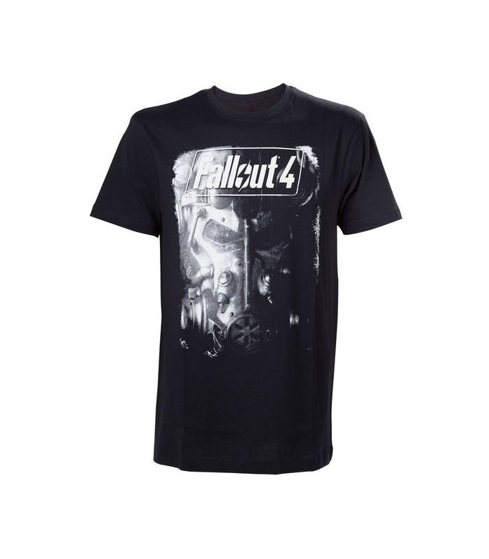 Camiseta negra Fallout 4