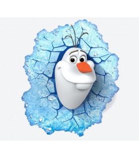 Luz de noche Olaf en 3D - Disney Frozen