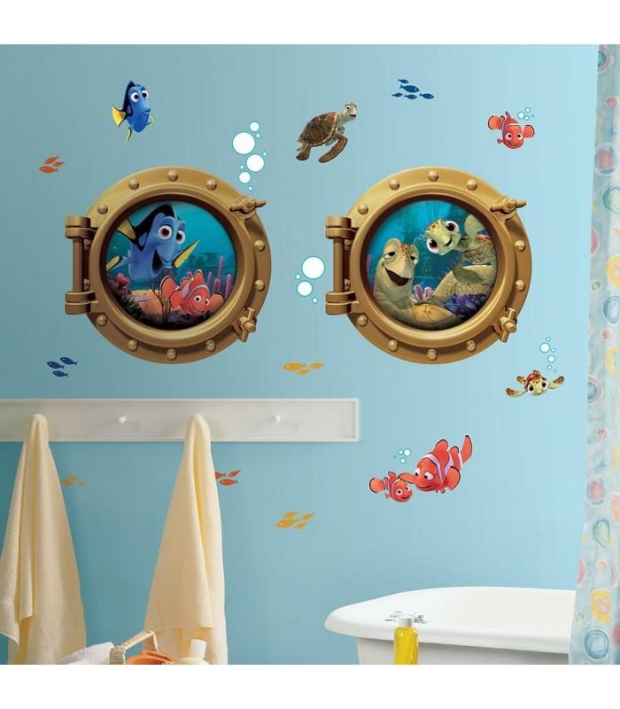 Vinilo para pared gigante Buscando a Nemo - Disney