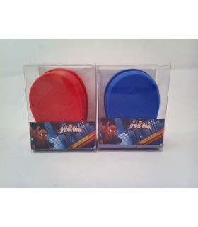 Set de 3 moldes de silicona - Spiderman