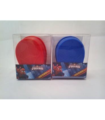 Set de 3 moldes de silicona - Spiderman