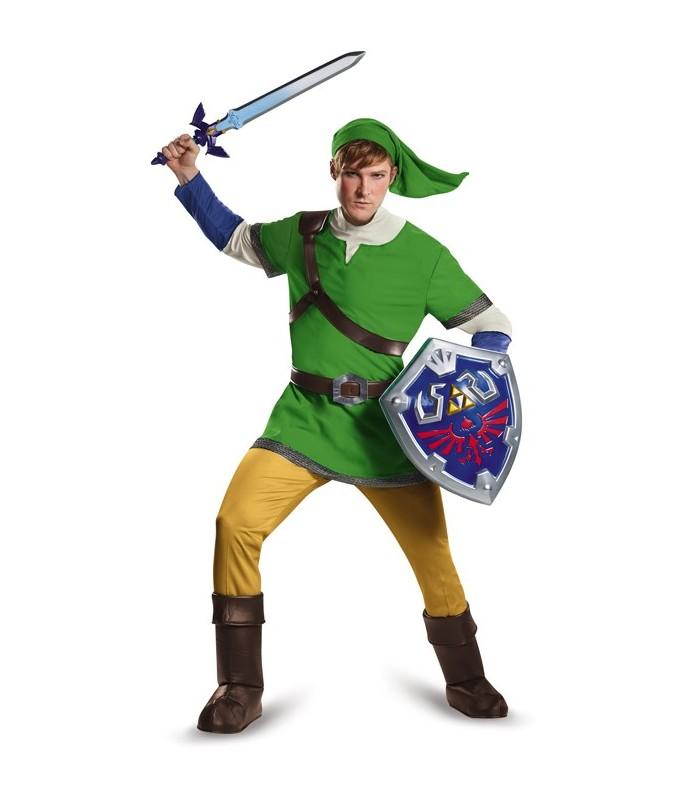 Disfraz de luxe adulto de Link - Legend of zelda
