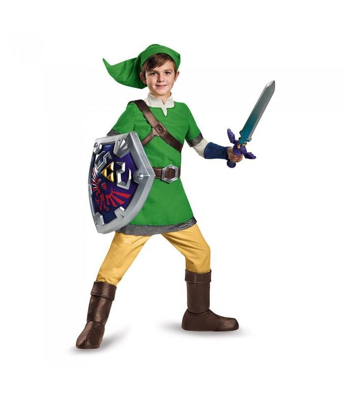Disfraz de lujo de niño de Link - Legend of Zelda