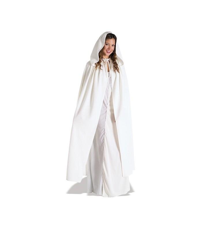 Disfraz adulto Arwen capa blanca - El Señor de los anillos