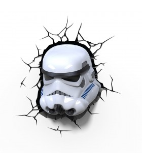 Lámpara Stormtrooper 3D - Star Wars
