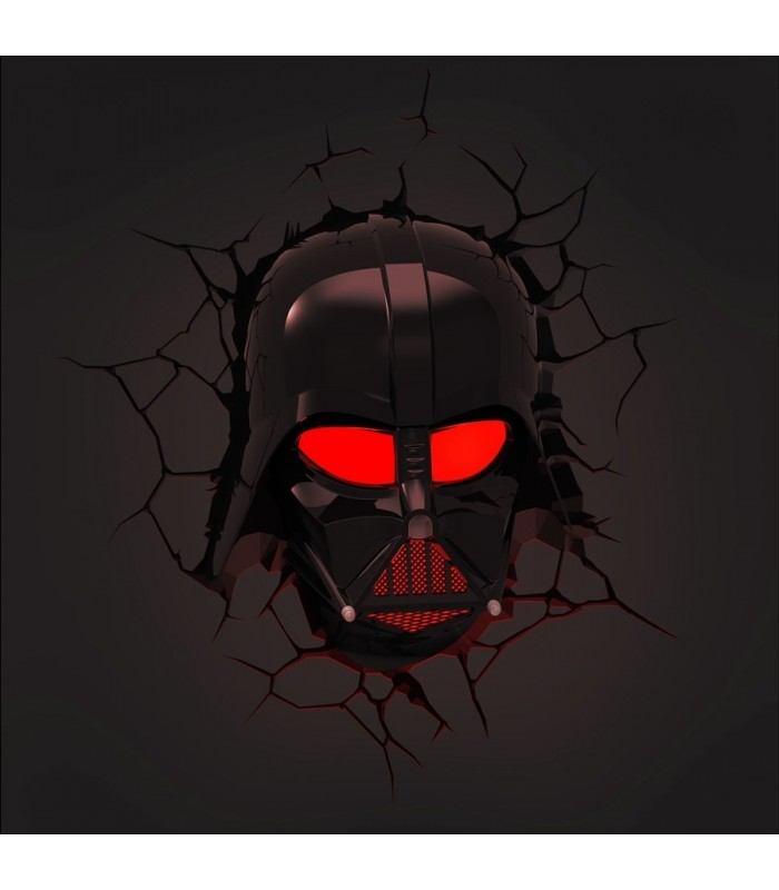 Lámpara Darth Vader 3D  - Star Wars