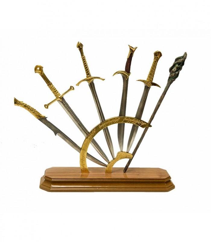 Expositor de mini espadas - El Señor de Los Anillos - El Hobbit