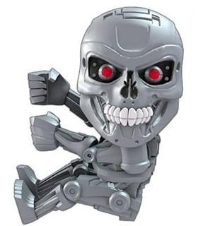 Mini figura Scalers Endoskeleton - Terminator Genesys