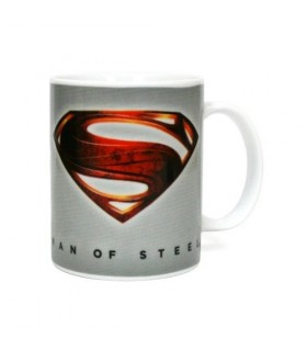 Taza logo Superman DC Comics - Man of Steel