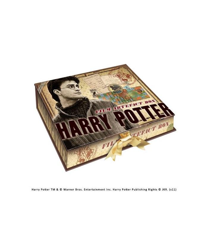 Caja de Recuerdos y Efectos Personales de Harry Potter