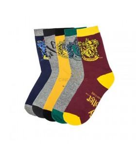 Juego de 5 pares de calcetines variados - Harry Potter
