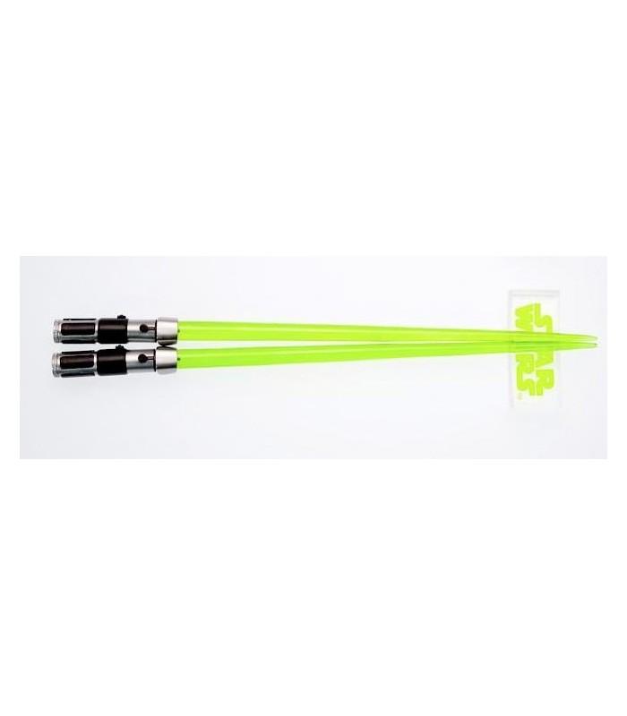 Palillos Chinos Sable de Luz Espada Luz Yoda Star Wars