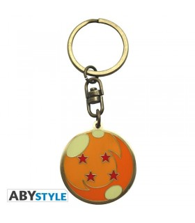 Llavero metálico bola de 4 estrellas - Dragon Ball