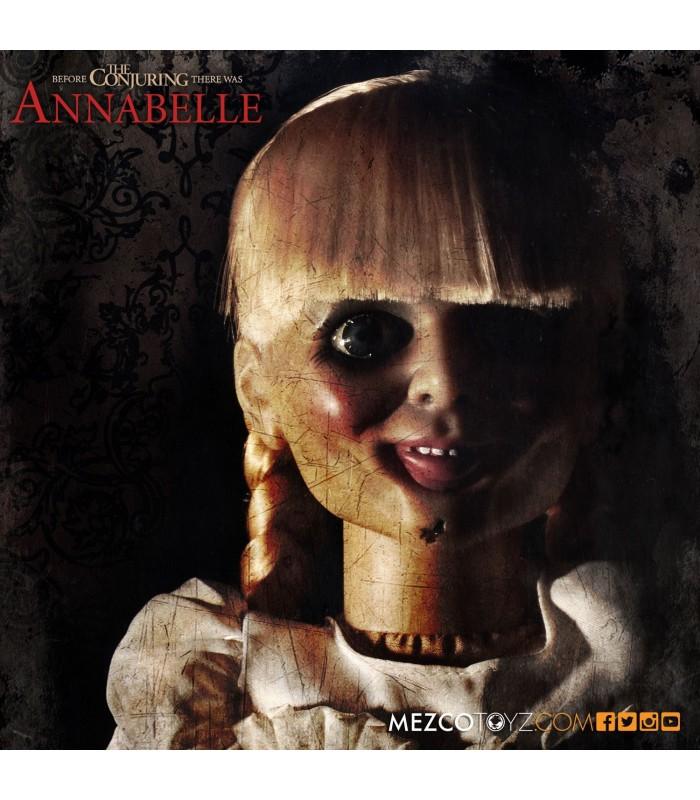 Réplica escala 1:1 de la Muñeca Annabelle 46 cm. - The Conjuring