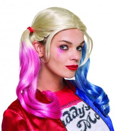 Peluca Harley Quinn - Suicide Squad