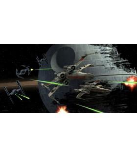 Póster de vidrio Tie Fighter vs X-Wing - Star Wars