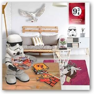 Todos los artículos más frikis para decorar tu casa o tu oficina los encontrarás aquí al mejor precio!!!